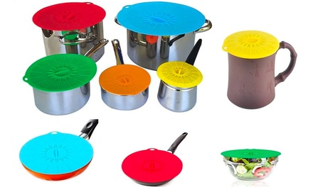 Universal Silicone Food Covers: Set of Five ($19) or Ten ($29)