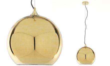 Lampadario Globe Gold