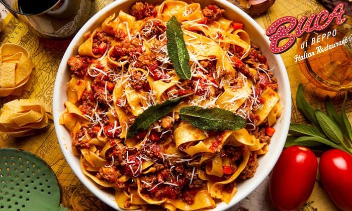 Buca di Beppo Italian Cuisine - Buca di Beppo | Groupon