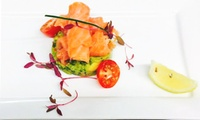 Two-course Meal with Prosecco for Two at Ambrosia Restaurant and Cocktail Bar (Up to 55% Off)