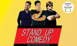 "Stand Up Comedy Guarulhos: ""Stand-up Comedy Guarulhos"" - Teatro da Biblioteca Monteiro Lobato: 1 ingresso"