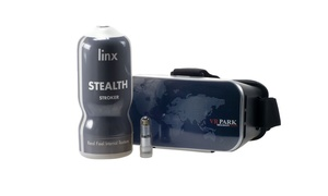 Linx Cyber Pro Stealth Stroker with VR Headset