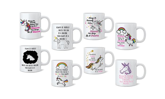 Always be yourself unicorn mug groupon goods always be yourself unicorn mug solutioingenieria Image collections