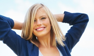 Colour Room - Amy Larmon: Women's Cut, Conditioning, and Style with Option for Highlights from Amy Larmon at Colour Room (Up to 58% Off)