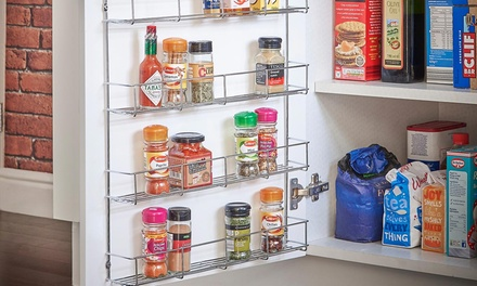 Four or FiveTier Chrome Spice Rack