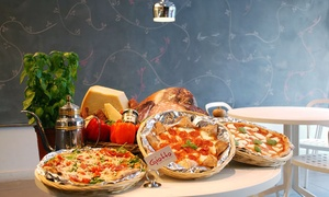 Giotto Maestro Della Pizza: Pizza and Italian Food for Dine-In at Giotto Maestro Della Pizza (47% Off). Two Options Available.
