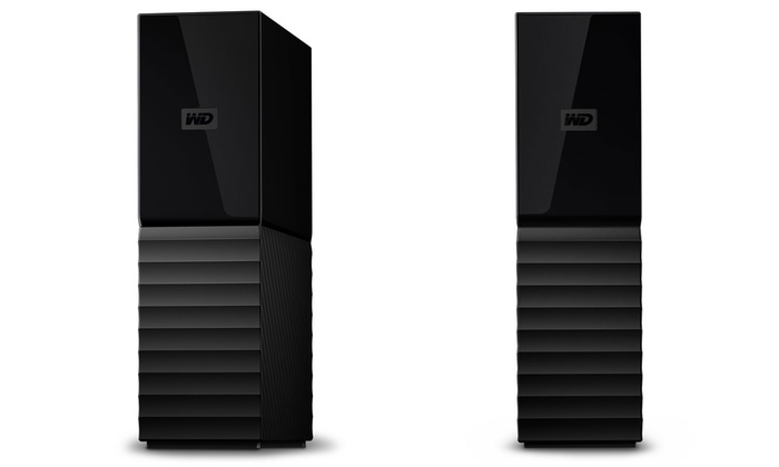WD My Book External Desktop Hard Drive with 4TB Storage and USB 3 0 Port  (Manufacturer Refurbished)