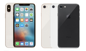 iPhone 8/8 Plus/X with 1-Year Warranty (GSM Unlocked) (Scratch & Dent)