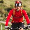 Ultralight Mountain Bike Helmet with Molded Goggles