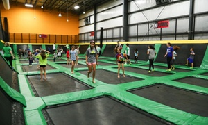 Up to 81% Off Jumping at Get Air Las Vegas at Get Air - Las Vegas, plus 6.0% Cash Back from Ebates.
