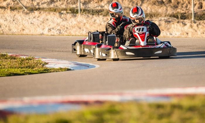 Karting Campillos - Karting Campillos: Tanda de Karting de 20 minutos para 2, 4 o 6 personas o Mini Gran Premio desde 44,90 € en Karting Campillos