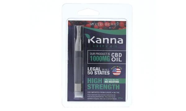 1mL CBD Cartridge (1000mg) from Kanna