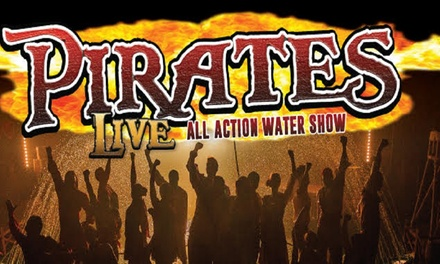 Pirates Live, Child or Adult Ticket, 226 April at Hippodrome Circus