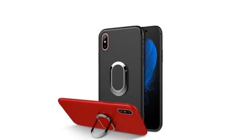 1 o 2 fundas TPU con soporte magnético para iPhone 8
