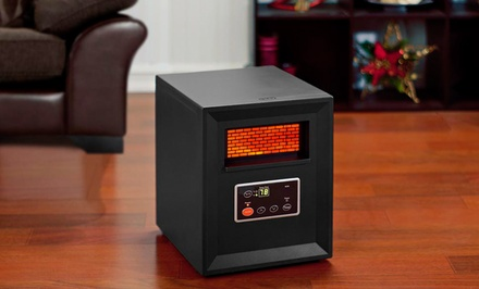 Comfort Zone 1500-Watt Infrared Heater. Free Returns.