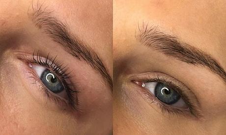 Wimpern- und oder Augenbrauen-Lifting und oder Färben mit Henna bei Beautique