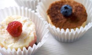 Bella Gray Baked Goods: One Dozen Mini-Cheesecakes or Dozen Variety Mini-Cheesecakes at Bella Gray Baked Goods (Up to 49% Off)