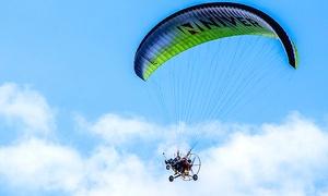 LotWidokowy.pl: Lot dwuosobową motoparalotnią: podniebna przygoda z LotWidokowy.pl (do -41%)