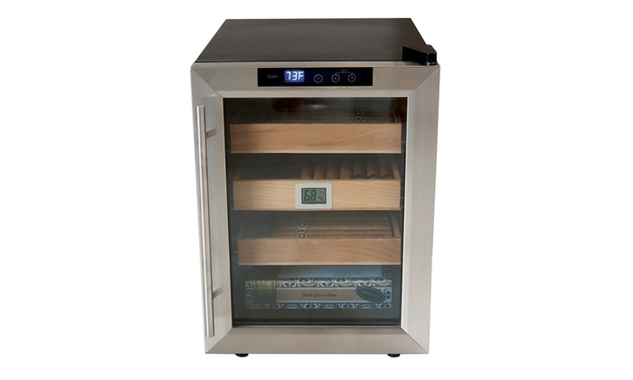 Clevelander Electric 250 Cigar Humidor Cabinet