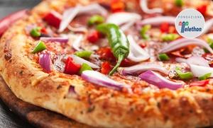 Pizzeria Da Zio Graziano: Menu d'asporto con pizza a scelta, bibita e dolce alla pizzeria Da Zio Graziano, in centro a Modena (sconto fino a 64%)