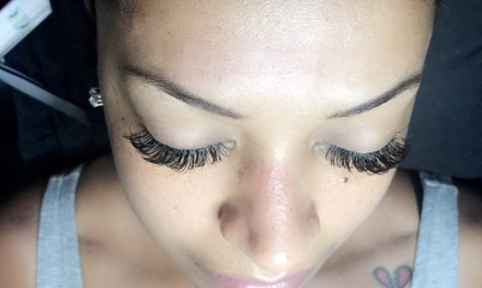 Full Set of Mink Eyelash Extensions with Optional Fill at Miink Me Prettii (Up to 44% Off)