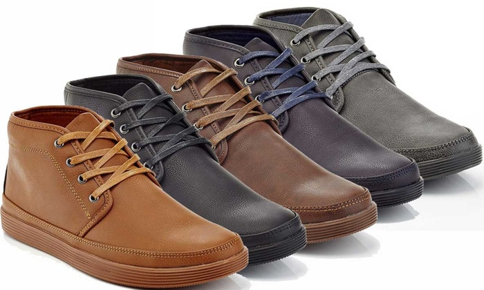 8dcb5bdeddae Franco Vanucci Barry Men's Lace-Up Chukka Sneakers (Sizes 8.5 & 10 ...