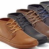 Franco Vanucci Barry Men's Lace-Up Chukka Sneakers