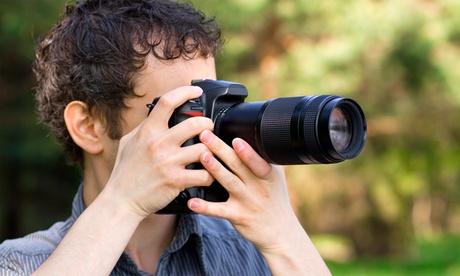 1 cours de photographie en studio d'1h30 ou en extérieur de 3h, pour 1 ou 2 personnes, dès €29,90 au studio