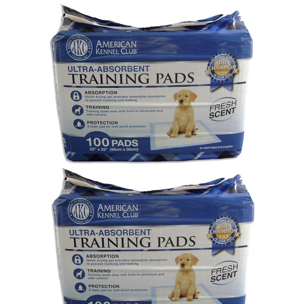 AKC Puppy Training Pads (25-,50-,100-, 150-, 200- or 400-Pack)