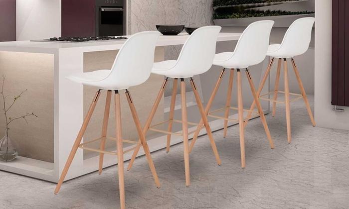tabourets de bar scandinaves osla groupon shopping. Black Bedroom Furniture Sets. Home Design Ideas