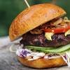 Burger-Menü inkl. Hot Brownie