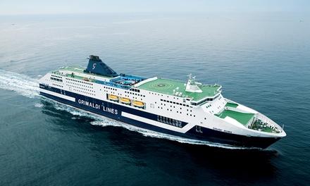 Bono descuento del 20% o 30% para ferries a Roma y Cerdeña con Grimaldi Lines