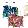 Gabbiano Printed Collection Expandable Hardside Luggage Set (3-Piece)