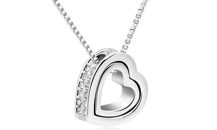 Collier Hold my Heart de la marque Romatco orné de cristaux