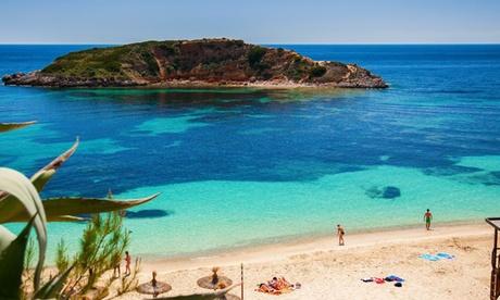 Mallorca: habitación doble o twin para 2 con botella de champagne y desayuno o media pensión en Hotel Rd Costa Portals