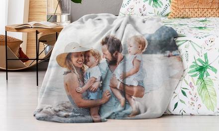 Manta polar o de lana con imagen personalizable en Photo Gifts (hasta 88% de descuento)