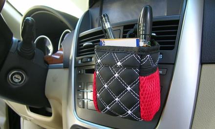 1 of 2 multifunctionele opbergzakken voor in de auto