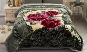 Reversible Raschel Blanket