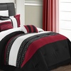 Carly Embroidery Hotel Collection Comforter Set (6-Piece)