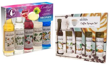 Monin Kaffee- oder Cocktail-Set