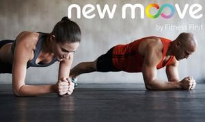 NewMoove: 3, 6 oder 12 Monate Mitgliedschaft im Online-Fitnessstudio NewMoove (bis zu 57% sparen*)