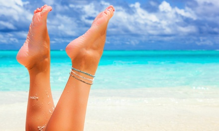 Three Crystal Anklets for £5.99 (80% Off)