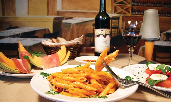 La Dolce Vita Ristorante  - La Dolce Vita Ristorante : $35 or $50 Worth of Italian cuisine for Lunch or Dinner at La Dolce Vita Ristorante (Up to 43% Off)