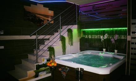 Spa privado para dos con botella de cava y opción a masaje desde 29,95 € en Estética Iris