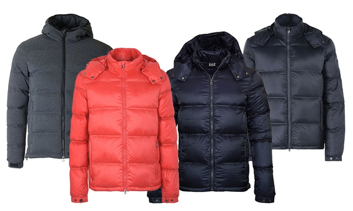 877ca3dac Up To 31% Off EA7 Emporio Armani Puffer Jackets