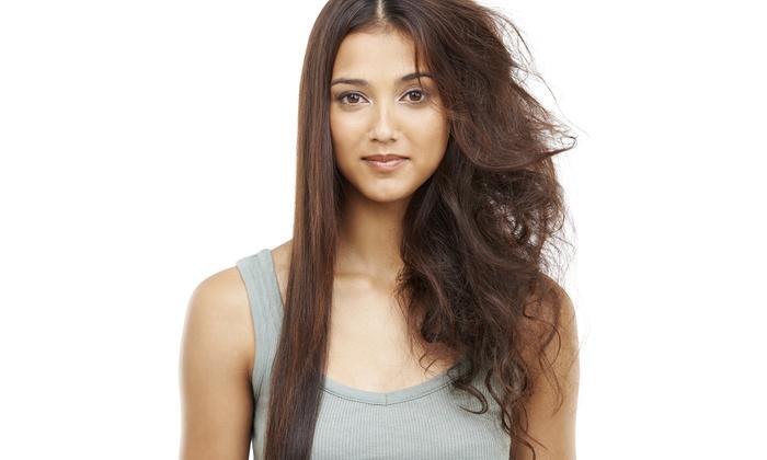 Merchi's Beauty Salon - Merchi's Beauty Salon: Keratin Smoothing Treatment with Optional Haircut at Merchi's Beauty Salon (74% Off)
