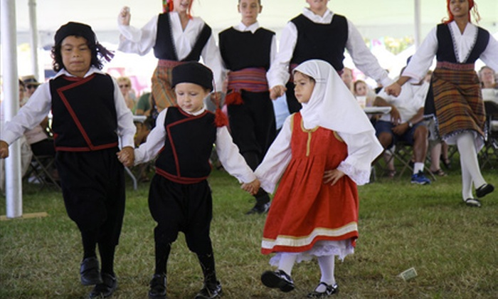 The St. Augustine Greek Festival - St. Augustine: Single-Day Admission for 2 or 4 to The St. Augustine Greek Festival with Soda or Beer on October 11–13 (Up to 55% Off)