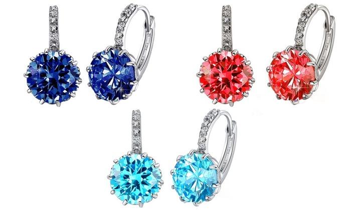 3cttw hoop earrings groupon goods