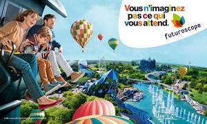 Futuroscope: Pass pour 1 ou 2 jours, spectacle nocturne inclus dès 27,75 € au Parc du Futuroscope