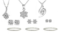 Earrings and Pendant Made with Swarovski Elements from AED 79 With Free Delivery (Up to 85% Off)